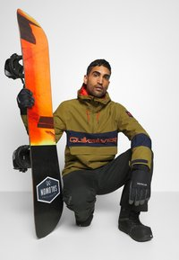 Quiksilver - STEEZE - Snowboard jacket - military olive - 1