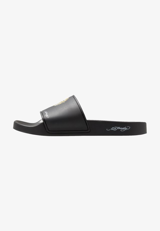 FIERCE-SLIDE - Mules - black