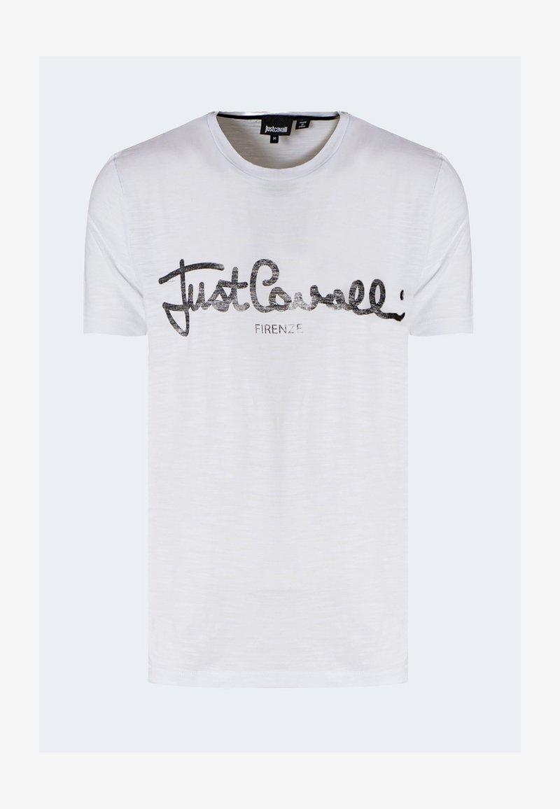 Just Cavalli - T-shirt con stampa - white