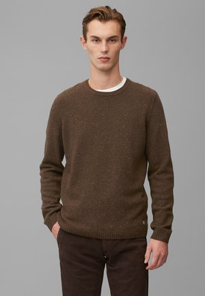 Pullover - chocolate brown