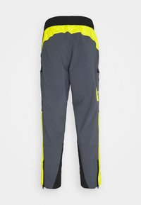 The North Face - STEEP TECH PANT UNISEX - Cargobyxor - vanadis grey/lightning yellow/black - 1