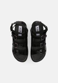 ASRA - PARKER - Sandals - black - 4