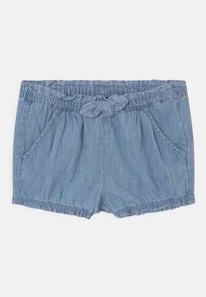 Denim shorts - light-blue denim