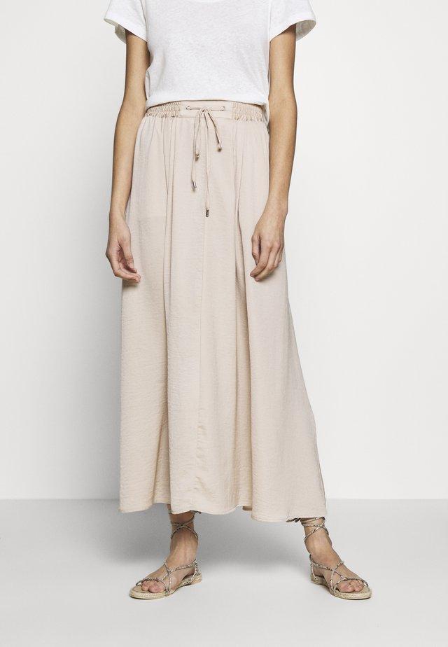 ALEXANDRA SKIRT - Maxi skirt - smoke