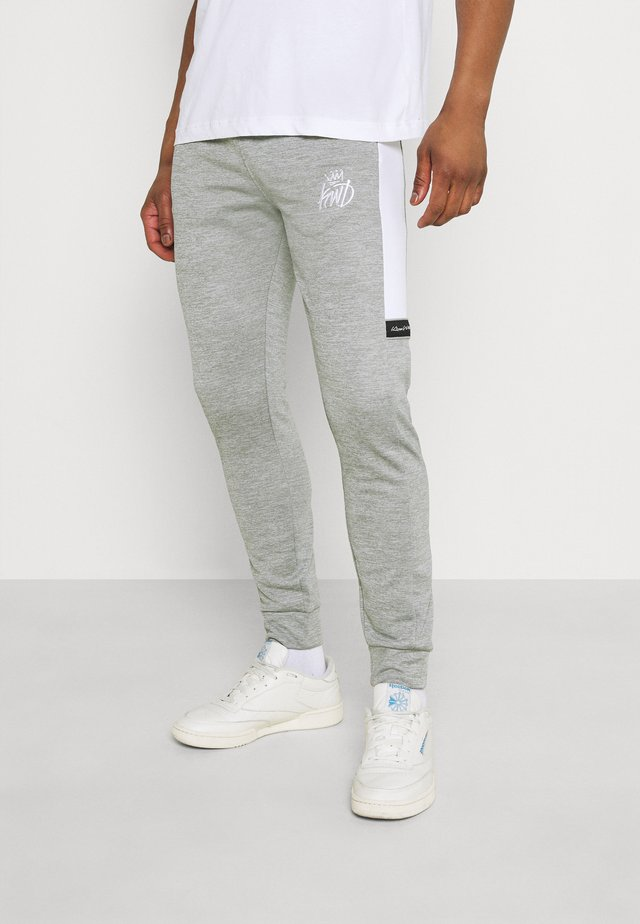 VESY MARL TAPE PANT - Tracksuit bottoms - grey
