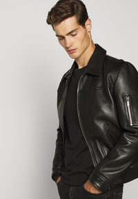 Belstaff - LONG SLEEVED  - Langarmshirt - black - 3