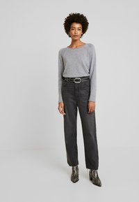 Culture - CUALAIA - Jumper - light grey melange - 1