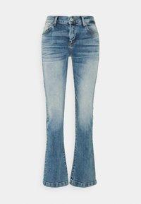 LTB - FALLON - Flared Jeans - gaura undamaged wash - 0