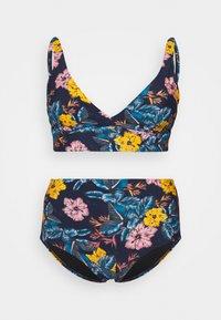 O'Neill - MARGA TALAIA FIX SET - Bikini - blue/yellow - 0
