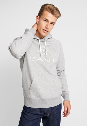 LOCK UP HOODIE - Hoodie - grey melange