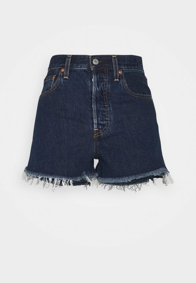 RIBCAGE - Shorts di jeans - noe dark mineral