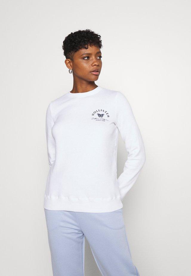 SECONDARY TECH CORE CREW - Sweater - white