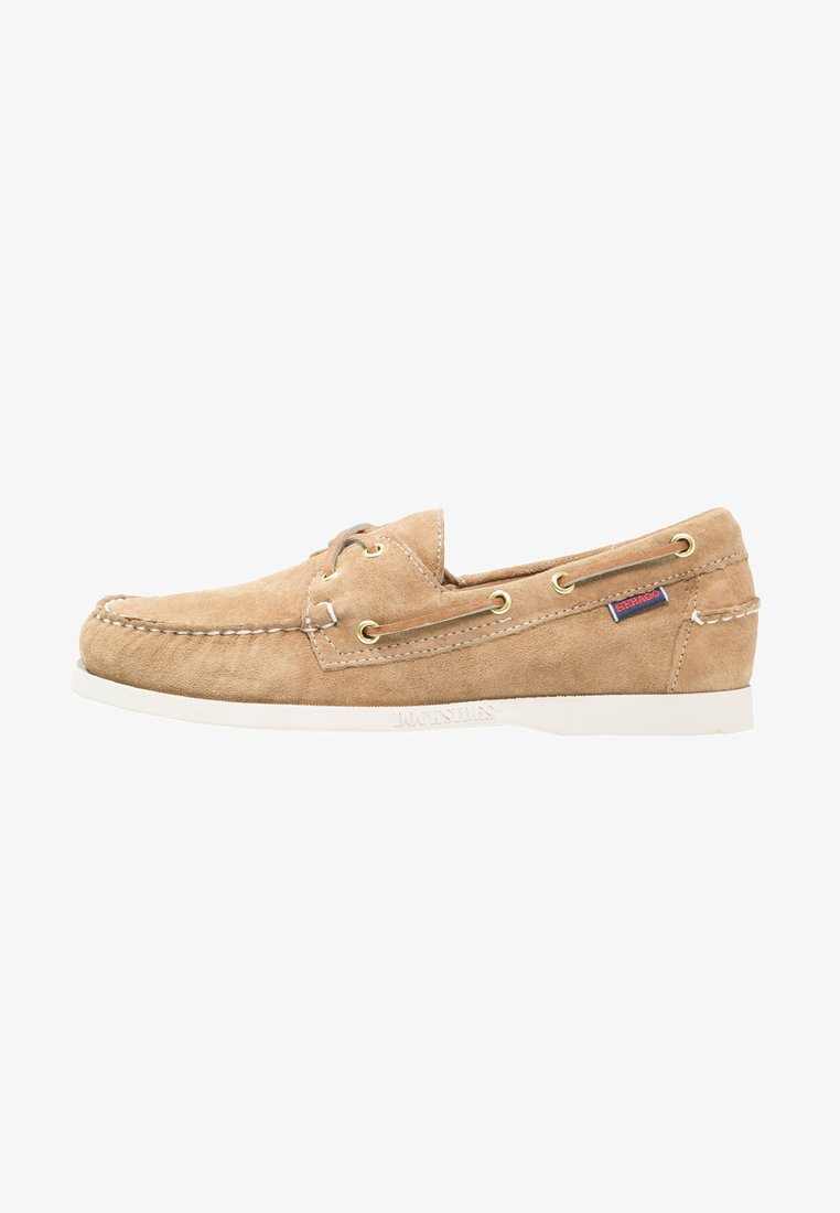 Sebago - DOCKSIDES - Boat shoes - sand