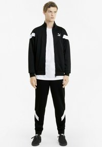 Puma - ICONIC MCS  - Zip-up hoodie - puma black - 1