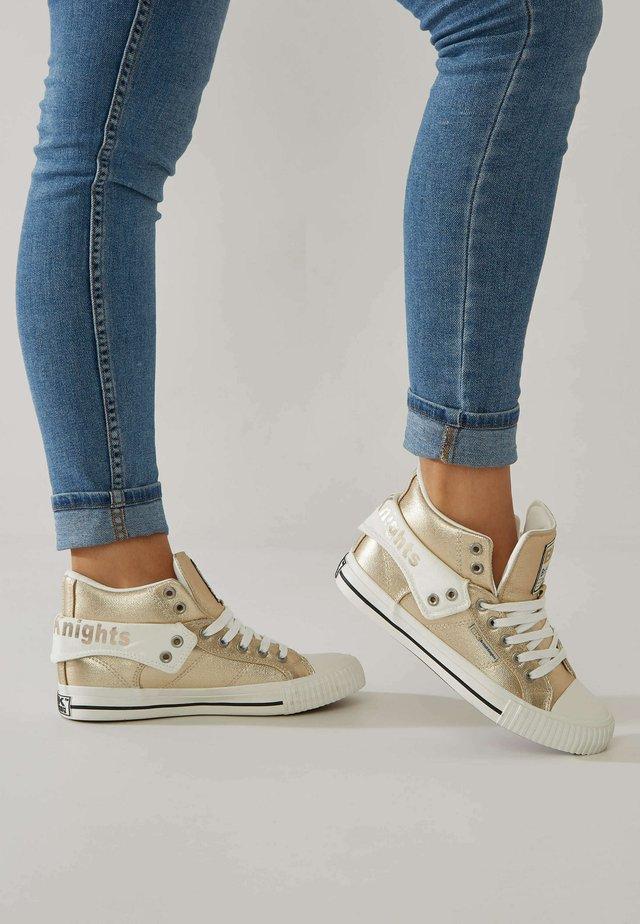 ROCO - Sneakers hoog - gold