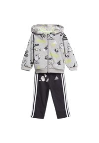 adidas Performance - FRENCH TERRY GRAPHIC TRACKSUIT - Tracksuit - grey - 9