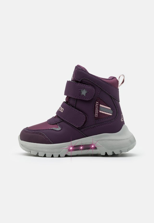 SUPERCAL TEX UNISEX - Hiking shoes - purple/rosé