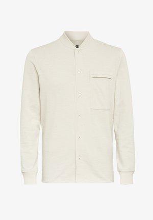 BASEBALL  ZIP POCKET - Shirt - whitebait