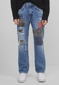 Bershka - Jeans baggy - blue denim - 0