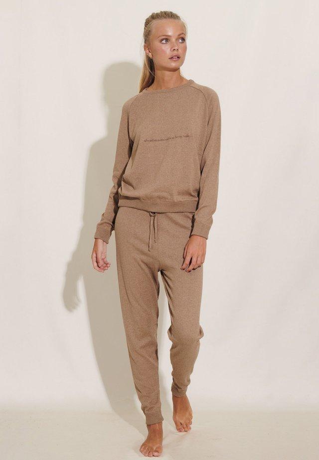 Pyjama top - camel