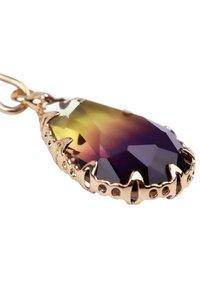 CHIC by Lirette - Earrings - paars geel - 4