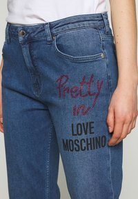 Love Moschino - Jean boyfriend - denim - 4