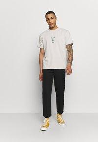 Afends - UNISEX SUBSTAINBILITY PROGRAMM TEE - T-shirt z nadrukiem - moonbeam - 1