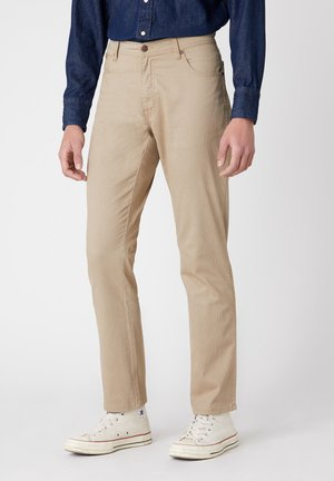 TEXAS - Slim fit jeans - sand