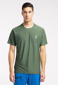 Haglöfs - Print T-shirt - fjell green - 0