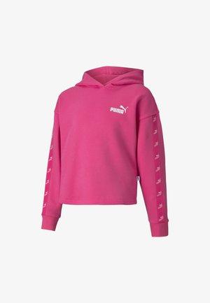 Hoodie - glowing pink