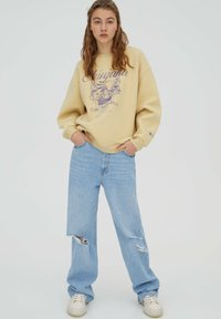 PULL&BEAR - Sweatshirt - yellow - 5