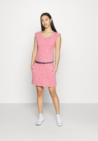 Ragwear - TAG - Žerzejové šaty - pink - 1