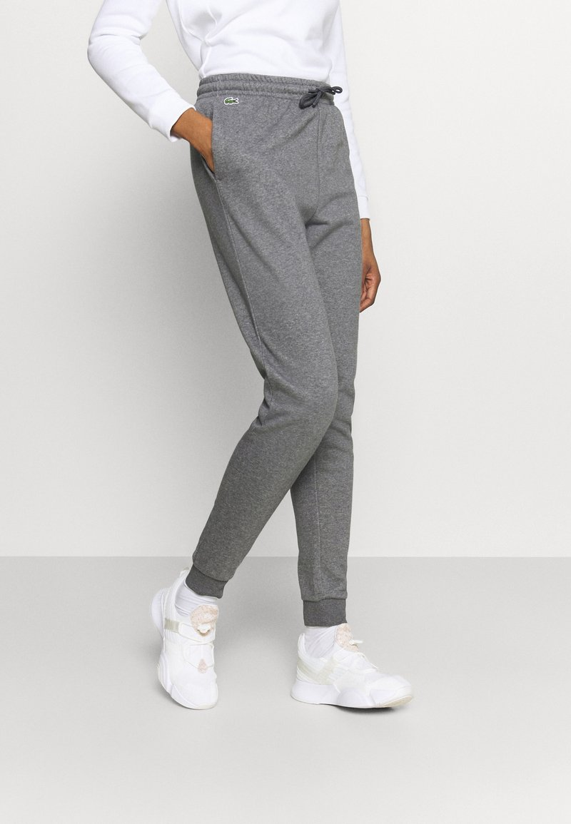 Lacoste Sport - WOMEN TENNIS TROUSERS - Tracksuit bottoms - pitch chine