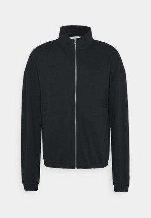 ZIP UP TRACK - Zip-up hoodie - black