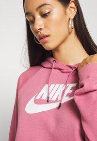 Nike Sportswear - HOODIE - Hoodie - desert berry - 5