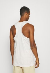 Tommy Jeans - RACER BACK TANK - Top - white - 2