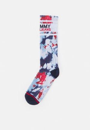 TIE DYE SOCK UNISEX - Socks - light blue