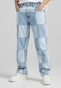 Bershka - 90'S HACK - Jeans relaxed fit - blue denim - 0