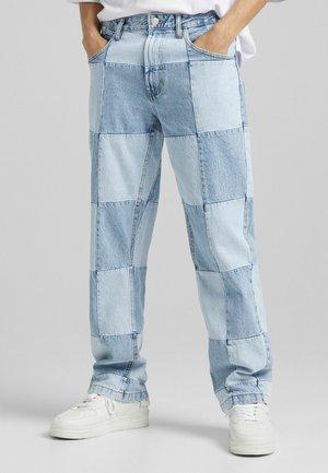 90'S HACK - Jean boyfriend - blue denim