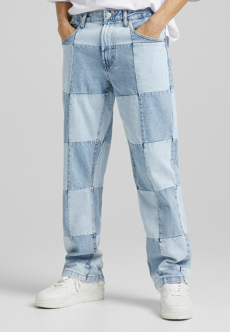 Bershka - 90'S HACK - Jeans relaxed fit - blue denim