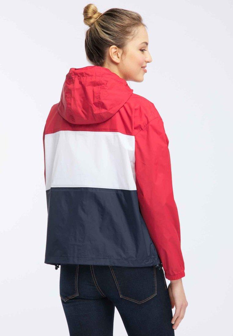 Schmuddelwedda Parka - red/block | Damenbekleidung billig