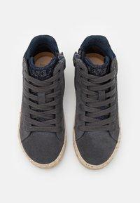 Geox - KALISPERA GIRL - Sneakersy wysokie - dark grey - 3