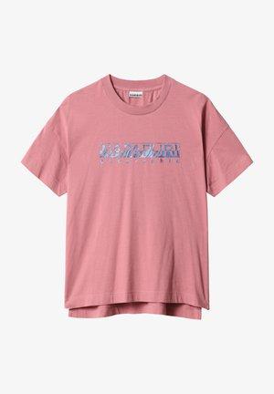 Print T-shirt - mesa rose