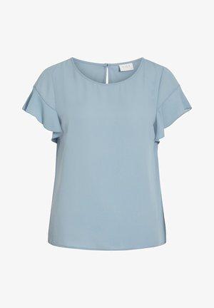 VILUCY FLOUNCE - Blouse - ashley blue