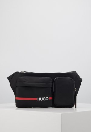 RECORD BUMBAG - Bum bag - black
