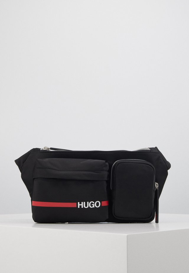 RECORD BUMBAG - Bum bag - black