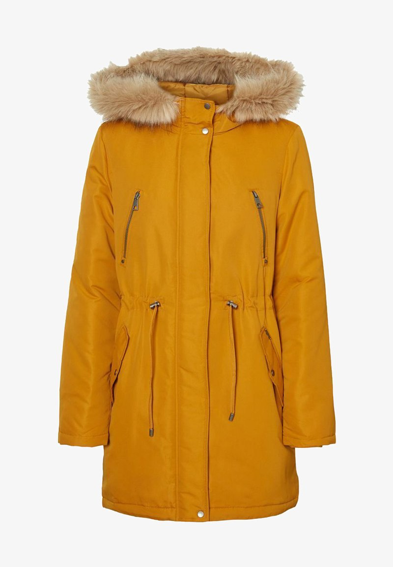 Vero Moda - VMAGNESBEA  - Parka - buckthorn brown