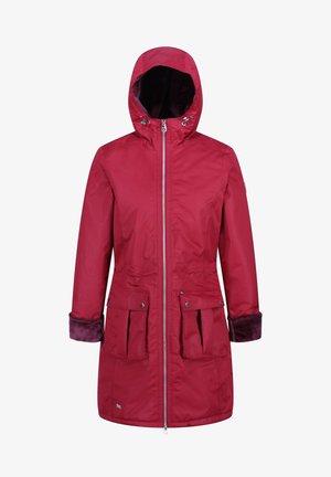 Winter coat - delhi red