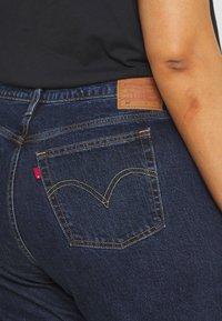 Levi's® Plus - PL 501 CROP - Straight leg jeans - salsa stonewash - 4