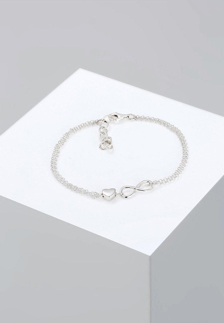 Elli - INFINITY  - Náramek - silver-coloured